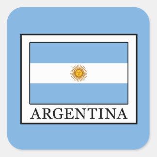 Argentinien Quadratischer Aufkleber