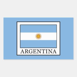 Argentinien Rechteckiger Aufkleber