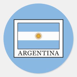 Argentinien Runder Aufkleber