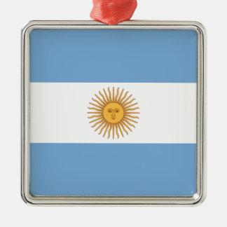 Argentinien Silbernes Ornament