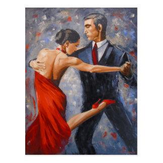 Argentinien-Tango Postkarte