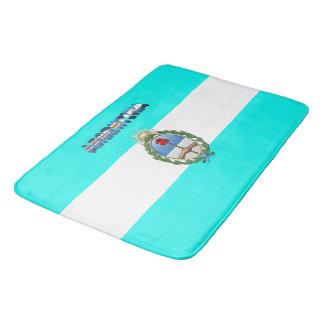 Argentinische Flagge Badematte