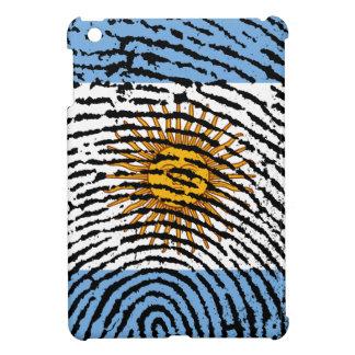 Argentinische Touchfingerabdruckflagge iPad Mini Hülle