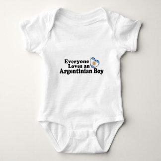 Argentinischer Junge Baby Strampler