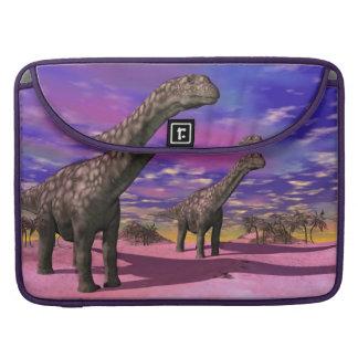 Argentinosaurusdinosaurier - 3D übertragen Sleeve Für MacBook Pro