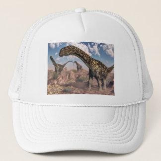 Argentinosaurusdinosaurier - 3D übertragen Truckerkappe