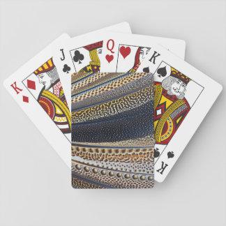 Argus-Fasanflügelfedern Spielkarten