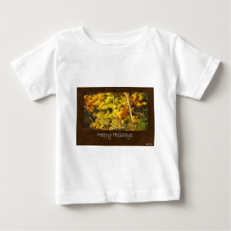 Ariana Herbst verlässt 9 glückliche Feiertage Baby T-shirt