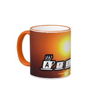 Ariel - am Sonnenuntergang Tee Tassen