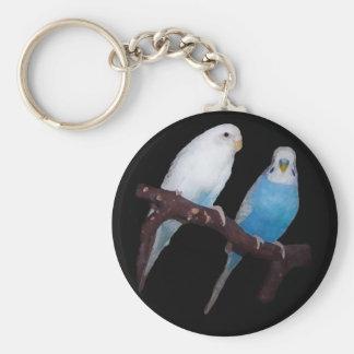 Ariel Oscar budgie keychain Standard Runder Schlüsselanhänger