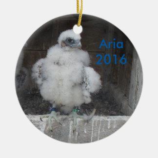 Arien-Verzierung 2016 Keramik Ornament