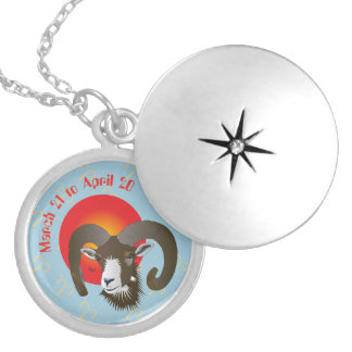 Aries March 21 to April 20 Necklaces Medaillon