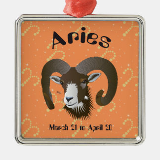 Aries March 21 to April 20 Ornament