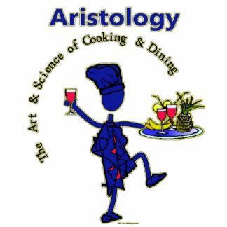 Aristology feinschmeckerische Kunst des Kochens Fotoskulptur Ornament