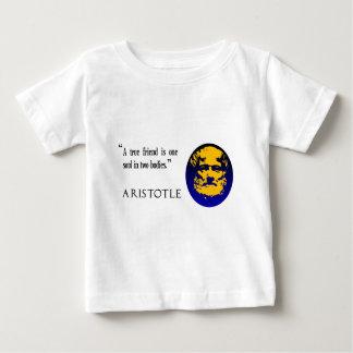 Aristoteles, ein echter Freund Baby T-shirt