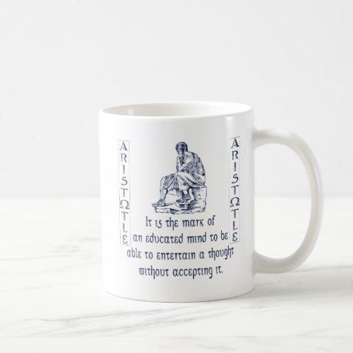 Tassen Lesen : Aristoteles kaffee tassen zazzle