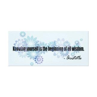 Aristoteles Leinwanddruck