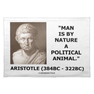 Aristoteles-Mann ist von Natur aus ein politisches Tischset