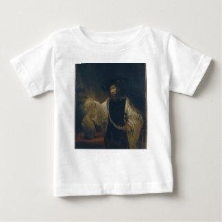 Aristoteles mit einem Fehlschlag von Homer durch Baby T-shirt