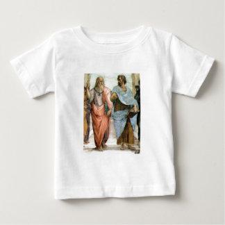 Aristoteles und Plato, die an Schule RAPHAEL gehen Baby T-shirt