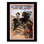 Arizona-Cowboy im Großen Zelt-Theater Postkarten