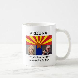 Arizona: Das Rennen zur Unterseite stolz führen Kaffeetasse