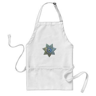 Arizona-Detektiv Schürze