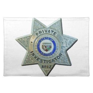 Arizona-Detektiv Tischset