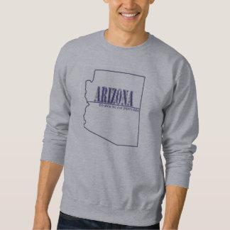 Arizona - die Show ich Ihr Papier-Staat Sweatshirt