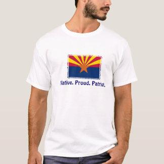 Arizona - Eingeborener. Stolz. Patriot-T - Shirt