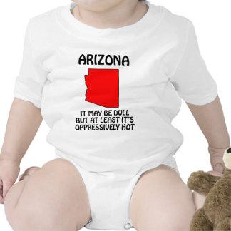 Arizona - es ist zwar stumpf, aber mindestens es baby strampler