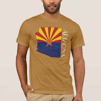 Arizona Flagge-Karte Shirt