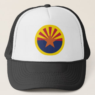 Arizona-Flaggen-Thema 00 Truckerkappe