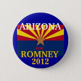 Arizona für Romney 2012 Runder Button 5,7 Cm
