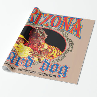 Arizona-Gila-Krustenechse Geschenkpapier