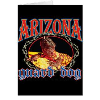 Arizona-Gila-Krustenechse Karte