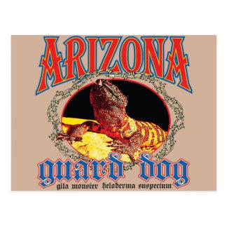 Arizona-Gila-Krustenechse Postkarte