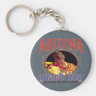 Arizona-Gila-Krustenechse Standard Runder Schlüsselanhänger