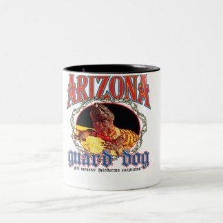 Arizona-Gila-Krustenechse Zweifarbige Tasse