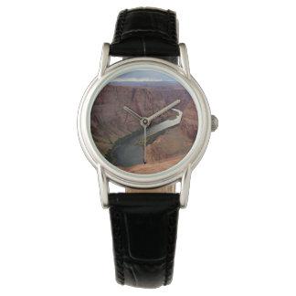 ARIZONA - Hufeisenbiegung A - roter Felsen Uhr