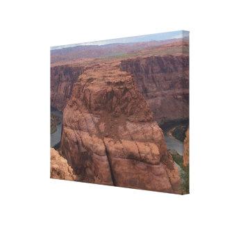 ARIZONA - Hufeisenbiegung AB2 - roter Felsen Leinwanddruck