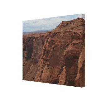 ARIZONA - Hufeisenbiegung C - roter Felsen Leinwanddruck