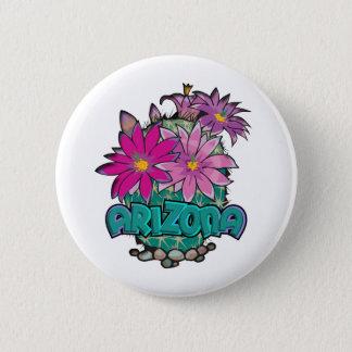 Arizona-Kaktus-Blüte Runder Button 5,1 Cm