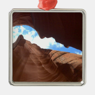 ARIZONA - obere Antilopen-Schlucht B - roter Silbernes Ornament