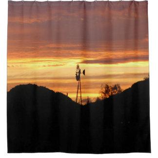 Arizona-Sonnenuntergang-Duschvorhang Duschvorhang