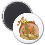 ARIZONA-Sonnenuntergang-Kaktus