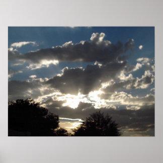 Arizona-Sonnenuntergang Poster