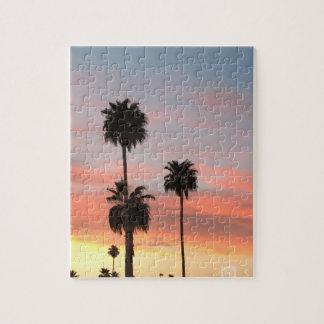 Arizona-Sonnenuntergangpuzzlespiele Puzzle