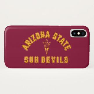 Arizona-Staat | Sun Devils - Retro iPhone X Hülle