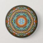 Arizona-Staatmandala-Button Runder Button 7,6 Cm